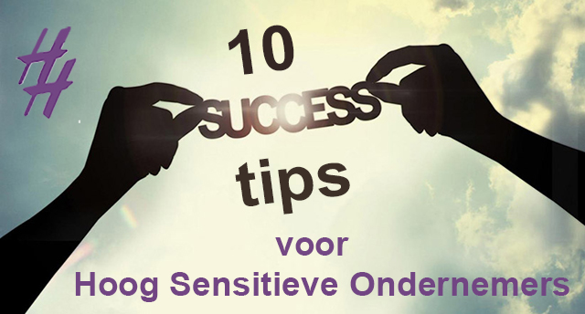 10 succestips HSO HSP